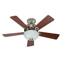 Hunter 28777 Ridgefield 44 in. Brushed Nickel Indoor Ceiling Fan with Swirled Marble Bowl Light Kit Hunter http://www.amazon.com/dp/B00LV91Z30/ref=cm_sw_r_pi_dp_JWlDwb01D892H