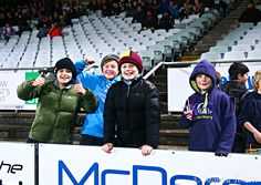 Young fans at Rugby Park, Invercargill. Southland Stags 34 - 23 Bay of Plenty. ITM Cup. August 15, 2014.