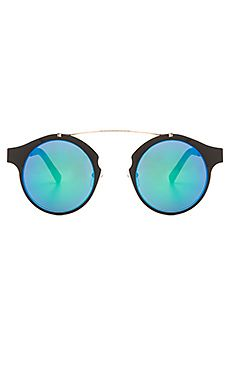 c0b443ec579 Shop for Spitfire Intergalactic in Black   Gold   Green Mirror at REVOLVE.  Free day shipping and returns