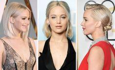 1 Schnitt, 7 Frisuren: So vielseitig kann man den Bob von Jennifer Lawrence stylen