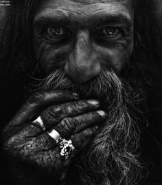 Black and white photos 216, Portrait photo of elderly people II