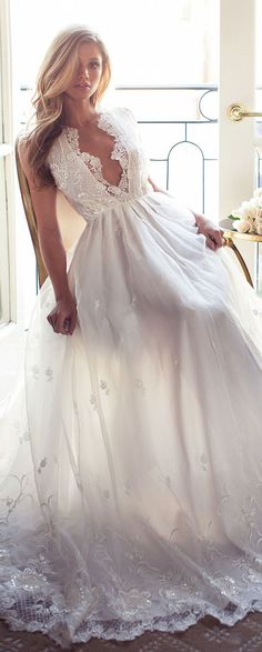 Lurelly Bridal Wedding Dress - Belle The Magazine Beach Fashion, Cute Bikini, Sexy Bikini