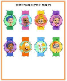 Find this Pin and more on Bubble Guppies Printables by craftyannie1.