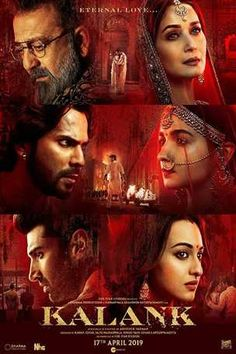 Kalank Bollywood Movie In St. Louis , Missouri Is An Upcoming Drama Film Releasing On 17 April Story Line: Long-Buried Secrets Come To Light When… Film Logo, Madhuri Dixit, Pikachu, Pokemon, Sonakshi Sinha, Alia Bhatt, All Movies, Hindi Movies, Action Movies