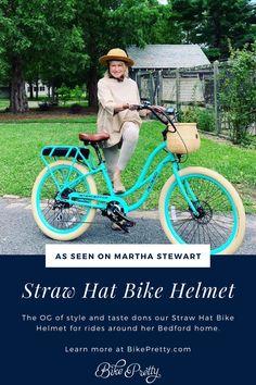 Arthritis Exercises, Helmet Covers, Straw Hats, Senior Fitness, Cute Hats, Aging Gracefully, Beach Trip, Martha Stewart, Bicycle Helmet