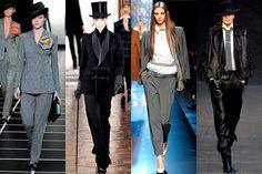 El top ten del otoño, Masculino, Giorgio Armani FW12/13, Ralph Lauren Collection FW12/13, Jean Paul Gaultier FW12/13 y Hermés FW12/13