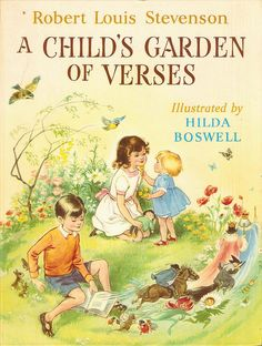 A Child's Garden of Verses by Hilda Boswell my favourite book as a child. My thoughtful sister recently found me a copy x