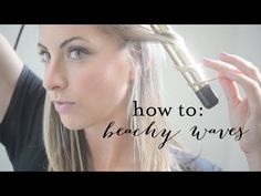 How To: Beachy Waves - YouTube