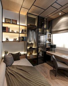 55 Good Solution for Your Workspace Bedroom Ideas #bedroomdecor #bedroomideas #bedroomdecoratingideas
