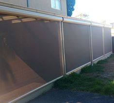 Ziptrak Blinds are a easy to use track guided blinds system that can be used with Clear PVC or Shade mesh. Ziptrak Blinds, Patio Blinds, Outdoor Blinds, Custom Shades, Sun Room, My House, Porch, Pergola, Track
