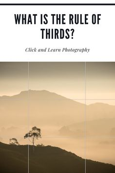 The Rule of Thirds is one of the most widely known compositional tools in photography and is often one of the first tips beginners pick up. But what is the Rule of Thirds and how can you use it (and break it) to improve your photography? #photography #photographytips #ruleofthirds #photographytutorials Best Landscape Photography, Dslr Photography Tips, Photography Tips For Beginners, Mobile Photography, Photography Business, Photography Tutorials, Learn Photography, Amazing Photography, Travel Photography