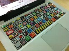 Delighting You With Design Apple Inc, Macbook Pro, Keyboard, Geek Stuff, Cool Stuff, Tech, Marvel, Unique, Design