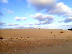 Auf leisen Sohlen, im weichen Dünensand auf #BoaVista, einen ausgiebigen Spaziergang mit wohlfühl Garantie, das sollten Sie nicht verpassen www.BoaVistianer.de