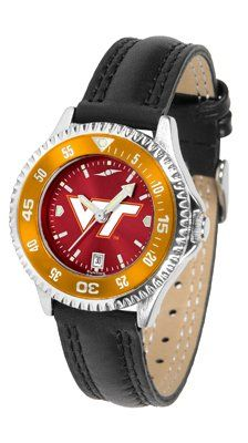 Virginia Tech Hokies Competitor Anochrome- Poly/leather Band W/ Colored Bezel - Ladies - Women's College Watches by Sports Memorabilia. $78.73. Makes a Great Gift!. Virginia Tech Hokies Competitor Anochrome- Poly/leather Band W/ Colored Bezel - Ladies