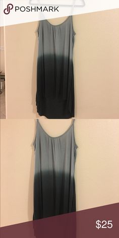 OMBRÉ SLIP DRESS Super soft and cozy ombré slip dress! Easy to dress up or dress down, in excellent condition! Fits more like a M! Urban Outfitters Dresses Mini