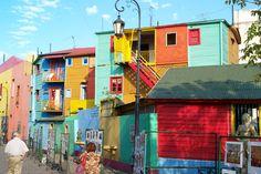 Espaço Cultural com diversas atrações La Boca em Buenos Aires na Argentina