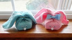 DIY Soap Bar Bunnies - these would be cute as a diy gift.
