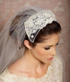 Juliet lace veil
