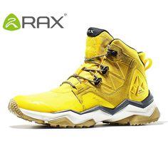 18c7fa9a21cf Rax Men Hiking Boots Waterproof Outdoor Sports Sneakers for Women Lightweight  Trekking Shoes Mid-top