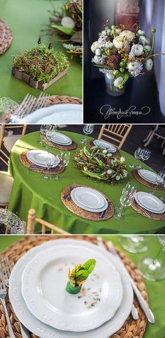 Весенняя свадьба в ресторане La Maison