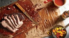 Rest and Slice - How To Cook Perfect Brisket - Southernliving. Remove the brisket from the smoker, and allow it to rest (wrapped) for 2 hours,… How To Cook Brisket, Beef Brisket Recipes, Bbq Brisket, Smoked Beef Brisket, Smoker Recipes, Barbecue Recipes, Grilling Recipes, Pork Recipes, Cooking Recipes
