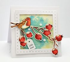 Penny Black supplies  berry bramble  feathers & twigs 51-375 Snowflake Stitch Frames