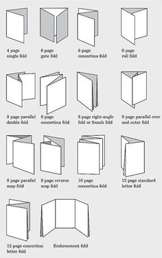 Creative Card Folds for handmade cards