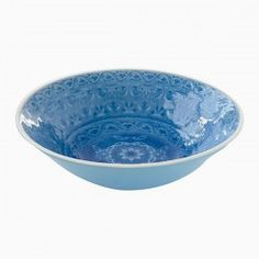 Plates, platters and trays Serving Dishes, Kitchenware, Dinnerware, Decorative Bowls, Tray, Ceramics, Gifts, Blue, Deep