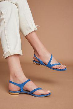 Raphaella Booz Suede Slingback Sandals
