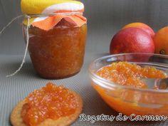 Me encanta las mermeladas, y si son hechas en casa, mejor aún. Ya he preparado varias recetas (recopilatorio aquí ), y ahora he pasado ...