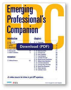 Emerging Professional's Companion by AIA (pdf) has some good details, but hopefully you are aware from reading every single detail in every single email from NCARB