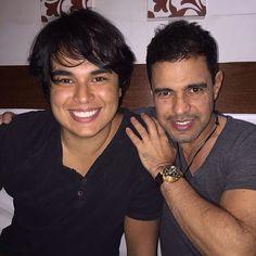 Igor com o pai, Zezé Di Camargo (Foto: Instagram/ Reprodução)