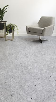 Portland is a Concrete Effect Vinyl Flooring design with a realistic, photographic stone effect, creating a contemporary, industrial look in your home or commercial space on robust, leading quality vinyl flooring. #vinyl #flooring #inspiration #design #decor #home #homedecor #interior #interiordesign #Ihavethisthingwithfloors
