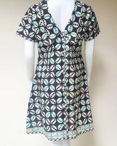 Casual Handmade Batik Dress by batikkamaratih on Etsy