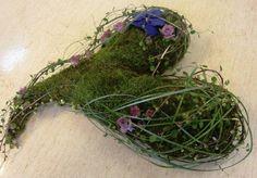 Florint:  Blok Floristry School Norway Funeral Arrangements 2012