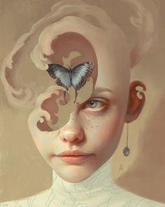 The digital illustration of Aykut Aydoğdu. Surrealism and pixels - The digital illustration of Aykut Aydoğdu. Illustrator Design, Art Inspo, Art Sketches, Art Drawings, Drawing Art, Surealism Art, Art Du Croquis, L'art Du Portrait, Surrealism Painting