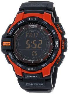 Casio Men's PRG-270-4CR Pro Trek Digital Display Japanese Quartz Black Watch