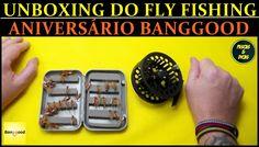 #Fly Pesca Unboxing e Aniversario banggood Hoje [Pescas e Dicas]