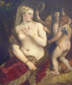 Titian - Venus with a Mirror (1555)