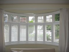 Cafe style shutters only partially cover your window. If your room is in a basement floor or at street level and does not receive much natural light, then cafe style shutters may be the perfect solution for your window. This style of shutters will provide additional privacy from onlookers without taking the light away. Great if you want to keep your curtains to dress your window as they will complement  any fabric. Cafe style shutters can be made to any desired height.
