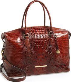 •Website: http://www.cuteandstylishbags.com/portfolio/brahmin-pecan-duxbury-leather-travel-bag/ •Bag: Brahmin Pecan 'Duxbury' Leather Travel Bag