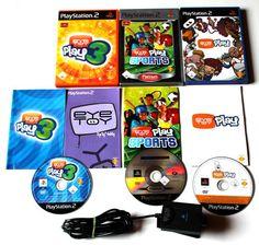 Eye Toy Sammlung Eye Toy Play 1 & 2 & 3 + Kamera für Playstation 2 Ansehen