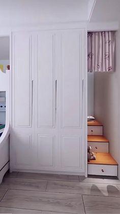 Small Room Design Bedroom, Small House Interior Design, Kids Bedroom Designs, Bedroom Furniture Design, Room Ideas Bedroom, Home Room Design, Kids Room Design, Bedroom Decor, Cool Room Designs