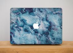 f7b7cab6ba Marble Macbook Cover Marble Macbook Pro 13 Case Macbook Pro 15 Case Hard  Case Macbook 12 Cover For Laptop Blue Marble Mac Case Apple PP2038