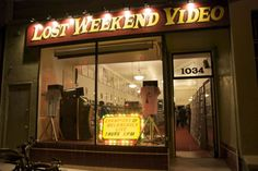 Lost Weekend Video & The Cinecave
