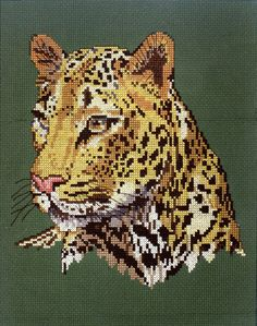Gallery - Physical Art - Other Art - leopard crossstitch - The Woodlands @ Dawn Fuse Bead Patterns, Beading Patterns, Cross Stitch Designs, Cross Stitch Patterns, Peler Beads, Illustration Girl, Hama Beads, Big Cats, Needlework