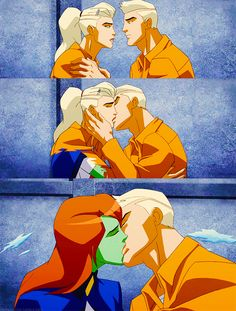 Conner & M'gann (Young Justice)