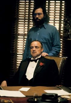 The Godfather (1972)   29 Awesome Behind-The-Scenes Photos From The Sets Of Classic Movies