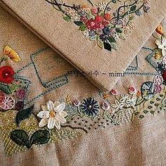 #Embroidery#stitch#needlework#stitch book #프랑스자수#일산프랑스자수#자수#자수타그램#기본 스티치북 #스티치 북 표지완성하기~