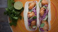 Baja-style Fish Tacos Justine Schofield